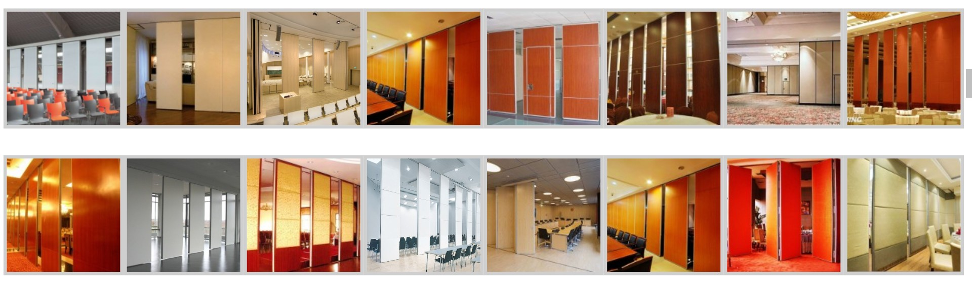 Borneo Pintu Lipat Central Pabrication Movable Acoustic Indonesia
